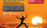 Advanced Certificate Programme in Entrepreneurship and Small Business Management (ESBM)