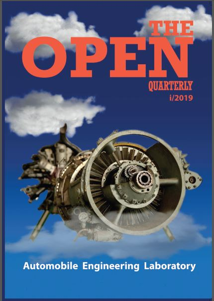THE OPEN QUARTERLY i/2019