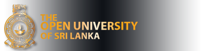 The Open University of Sri Lanka (OUSL)